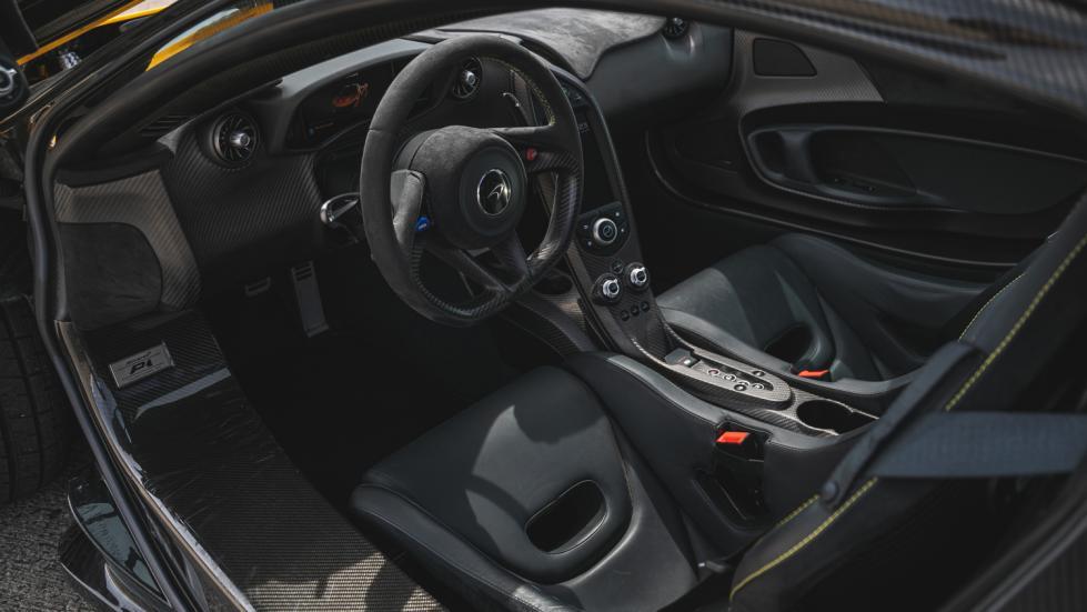 The McLaren P1 Steering Wheel