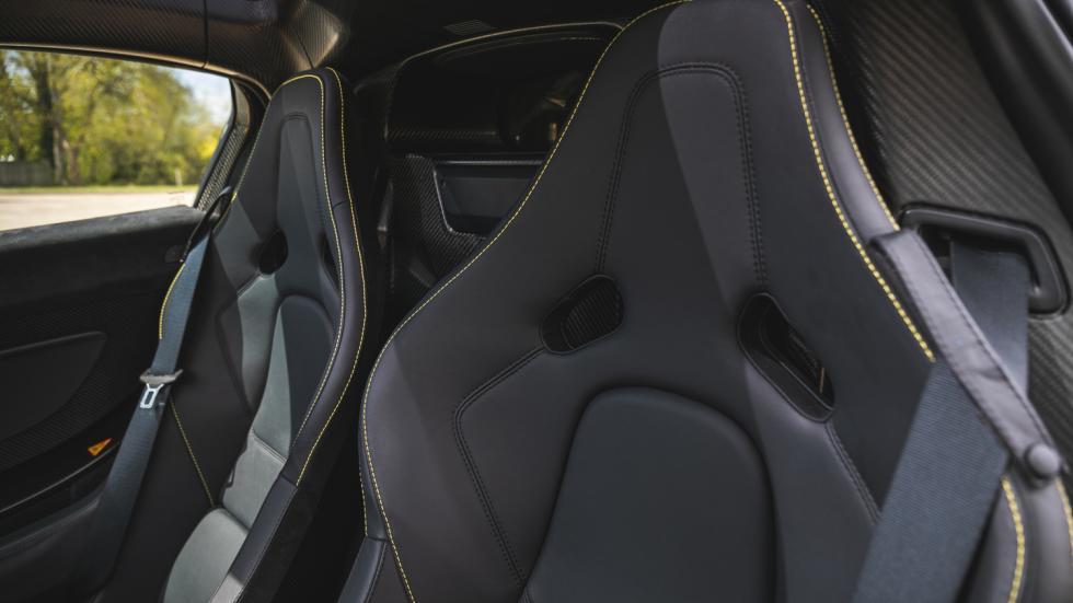 The McLaren P1 Passenger Seats