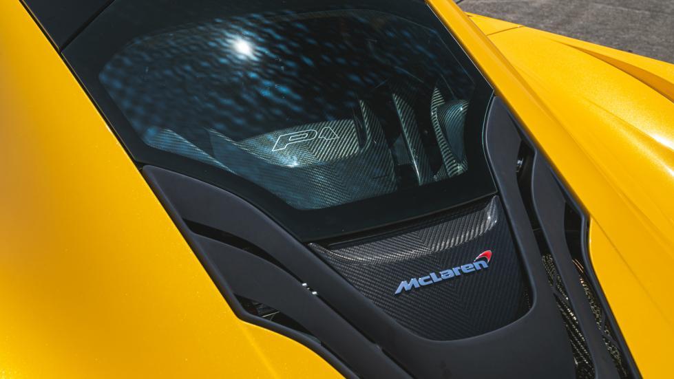 The McLaren P1 Engine