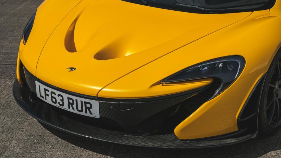 The McLaren P1 Hood Close Up