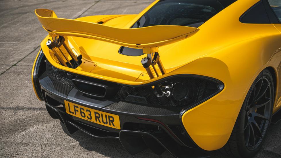 The McLaren P1 Spoilers