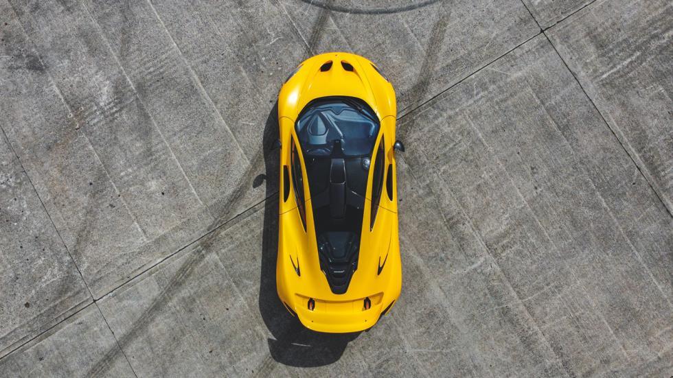 The McLaren P1 Top View
