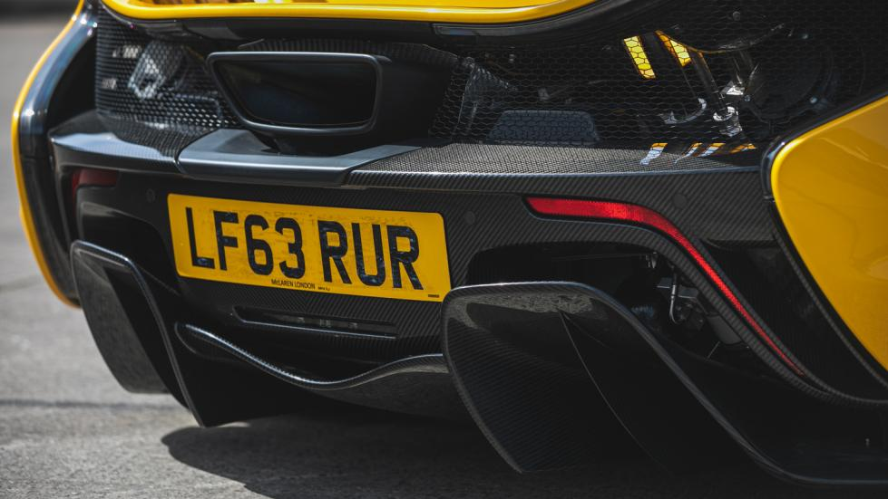 The McLaren P1 Rear and Exhaust