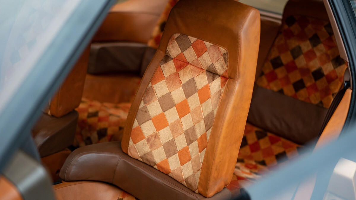 The Mazda MX-81 Aria - Passenger Seat Detail