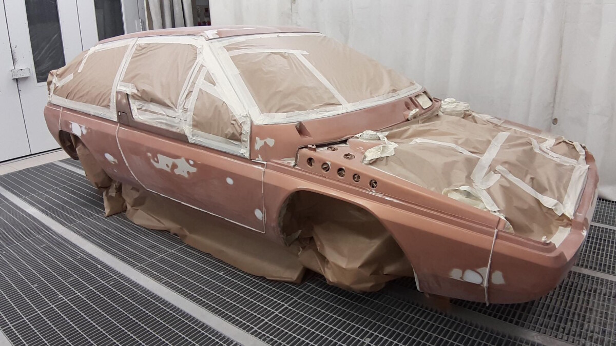 The Mazda MX-81 Aria - Repainting Work