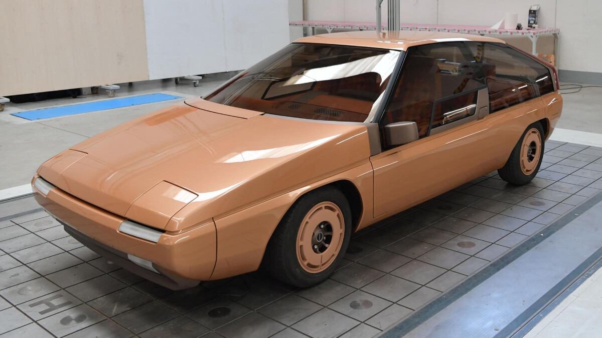 The Mazda MX-81 Aria - Angled Front View