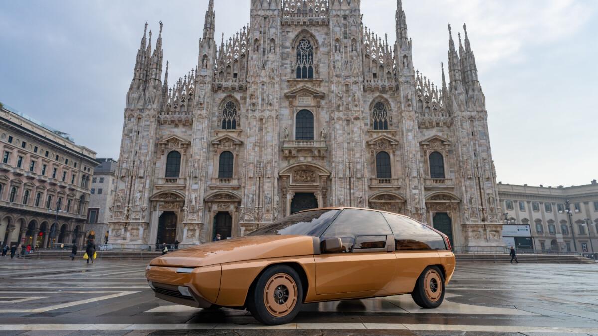 The Mazda MX-81 Aria concept gets a full restoration