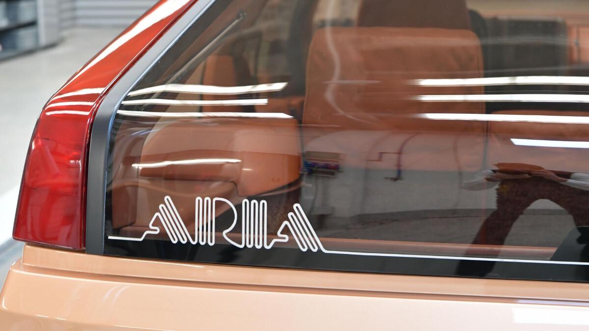 The Mazda MX-81 Aria - Emblem