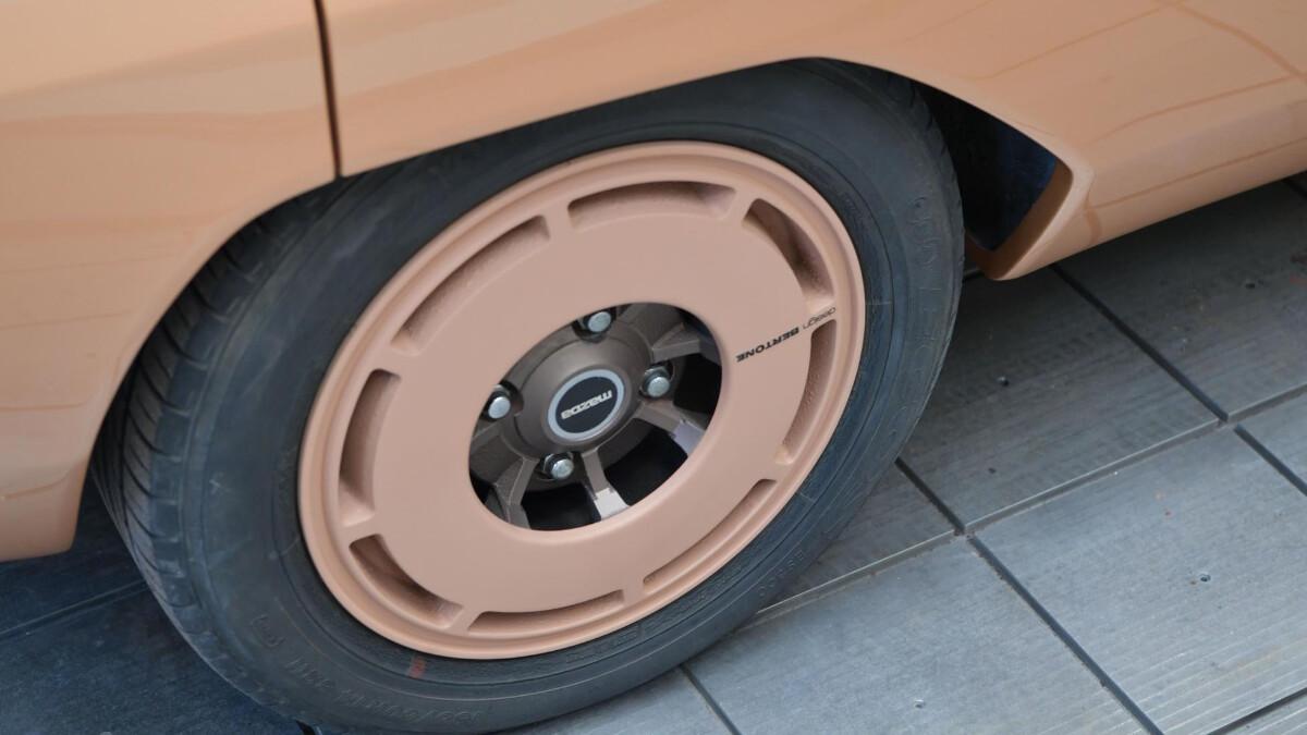 The Mazda MX-81 Aria - Tire