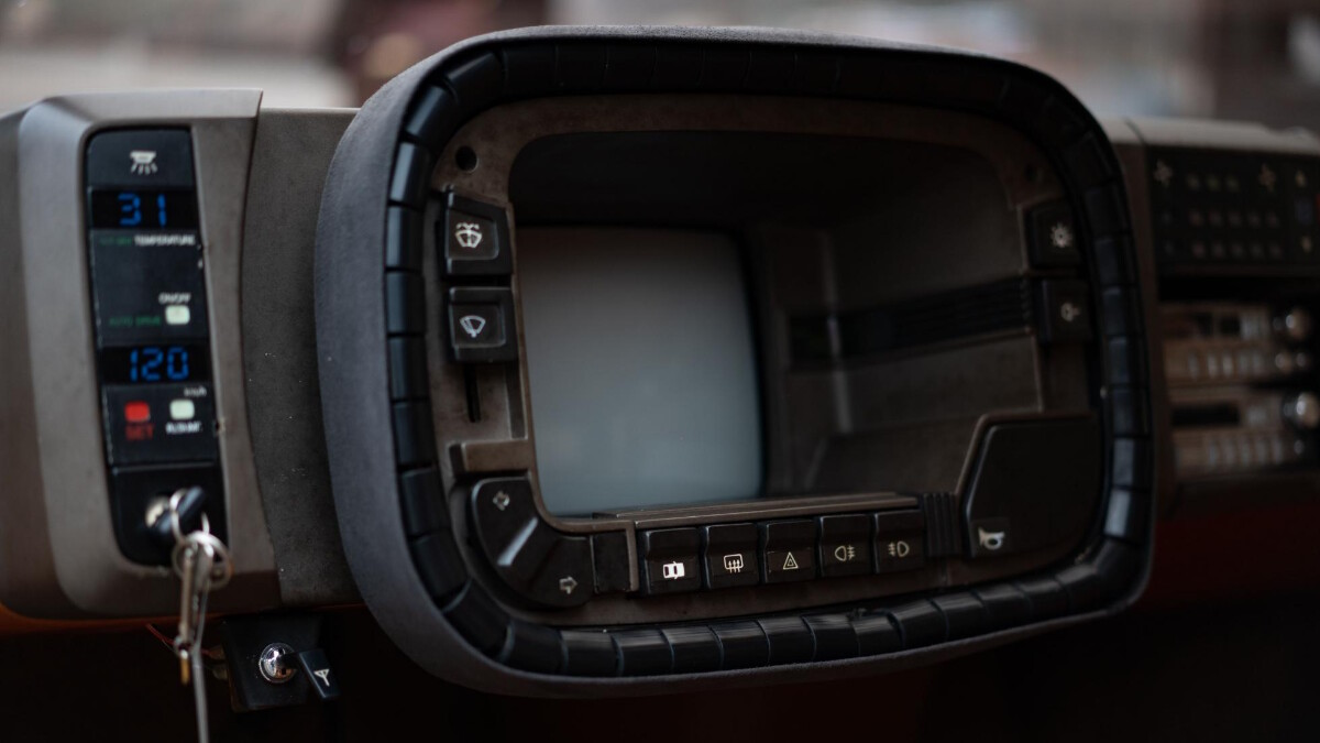 The Mazda MX-81 Aria - Dashboard
