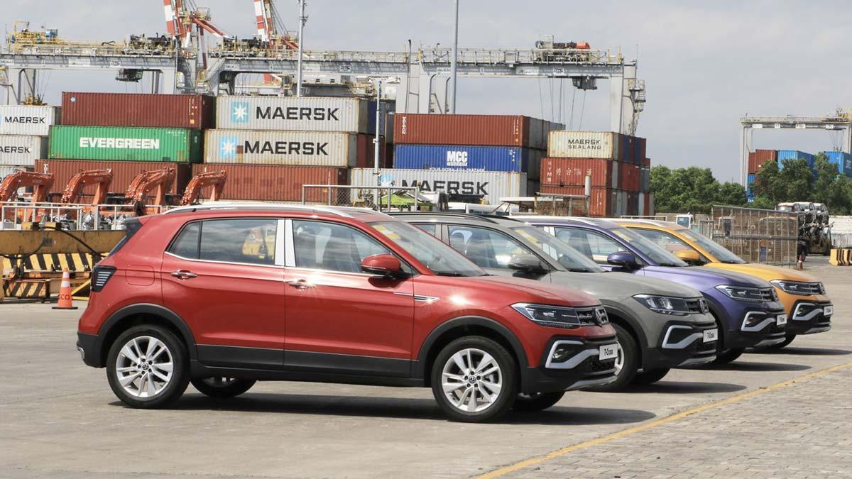 A Fleet of Volkswagen T-Cross