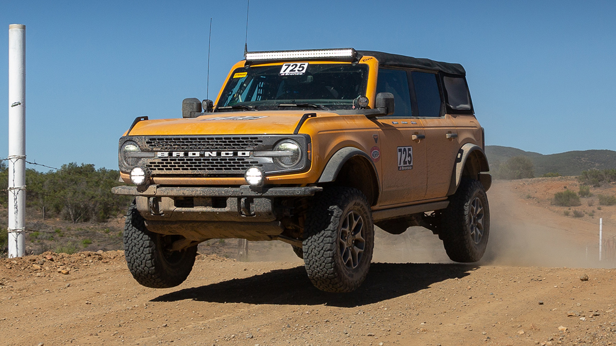 The Ford Bronco Air Time Shot