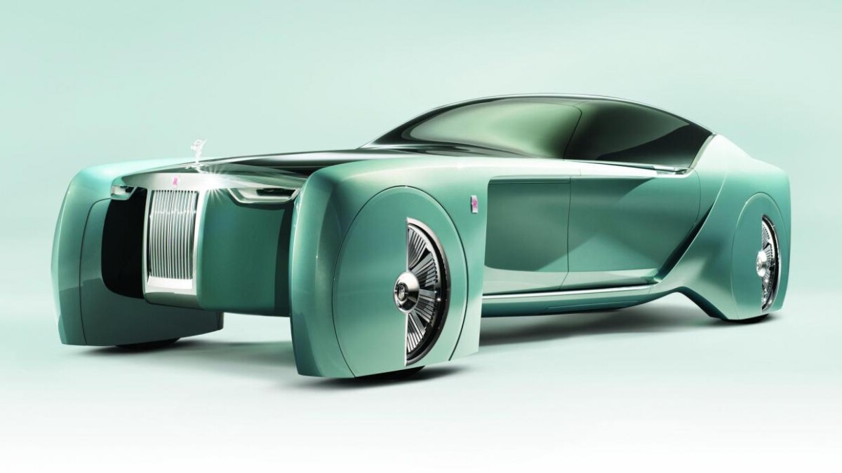 The Rolls-Royce Vision Next 100 Concept