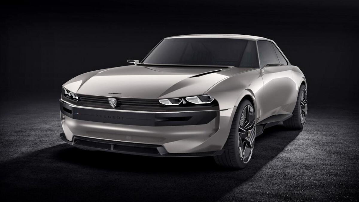 Peugeot e-Legend Concept Design