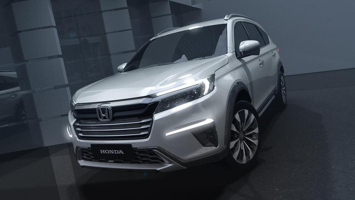 A concept design of Honda's N7X Mini SUV
