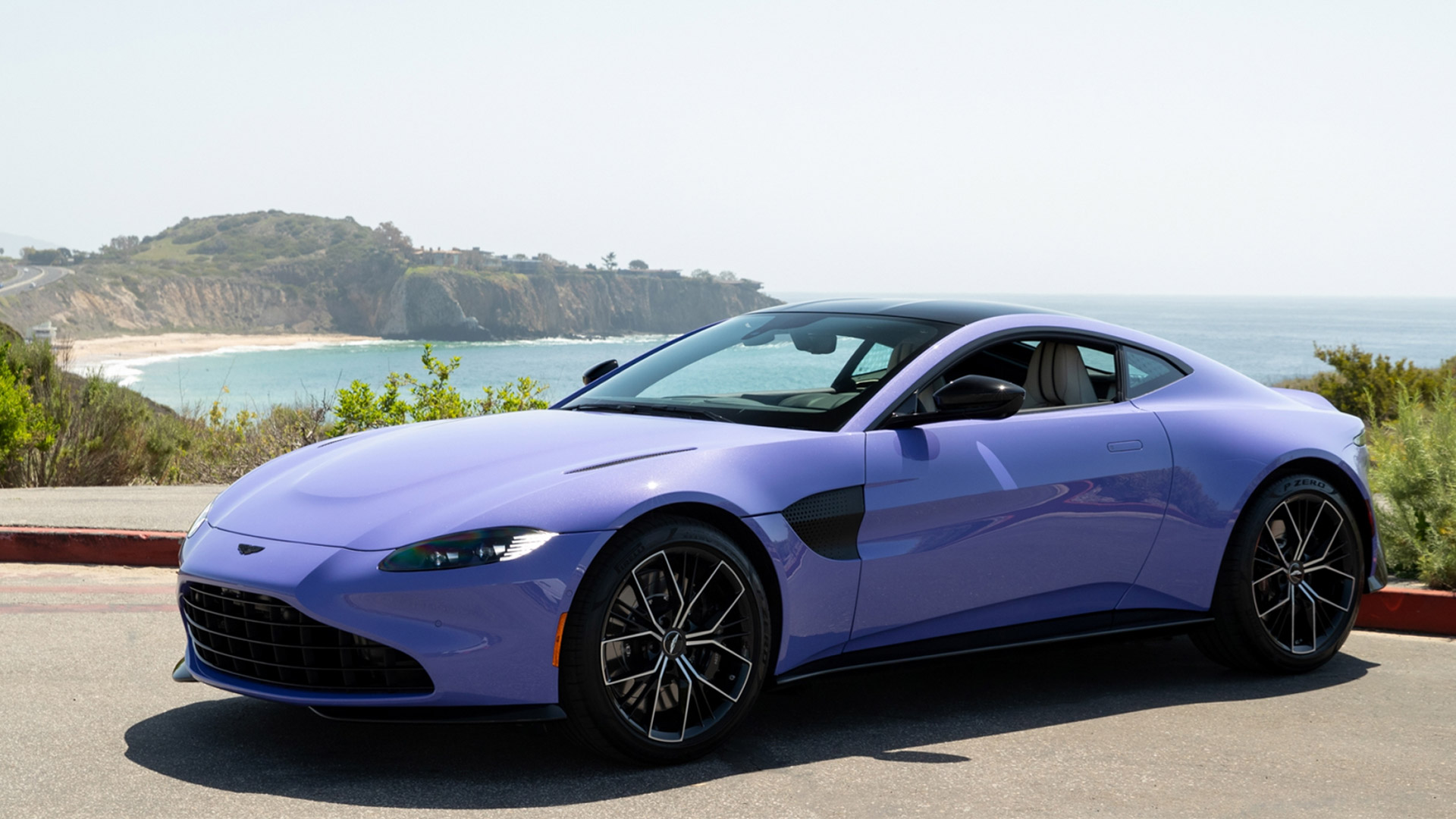 The Aston Martin Vantage Coupe in Ultra Violet