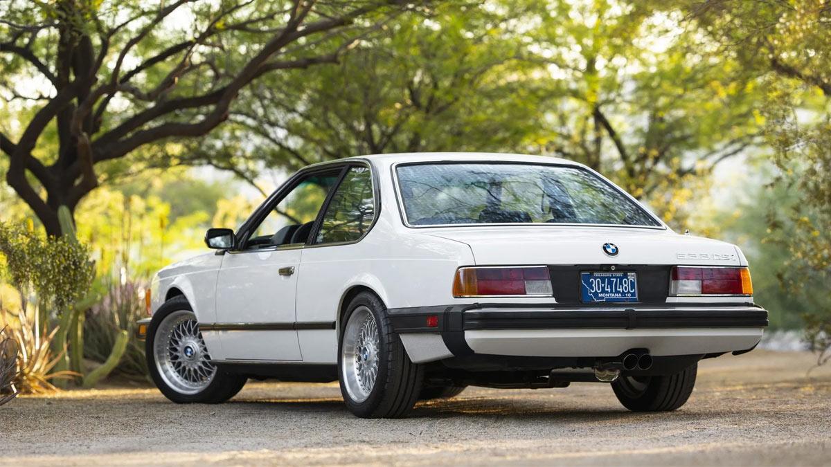 The 1984 BMW 633CSi