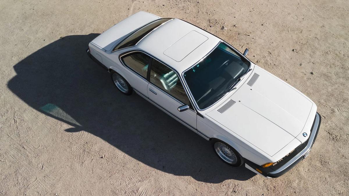 The 1984 BMW 633CSi Bird's Eye View