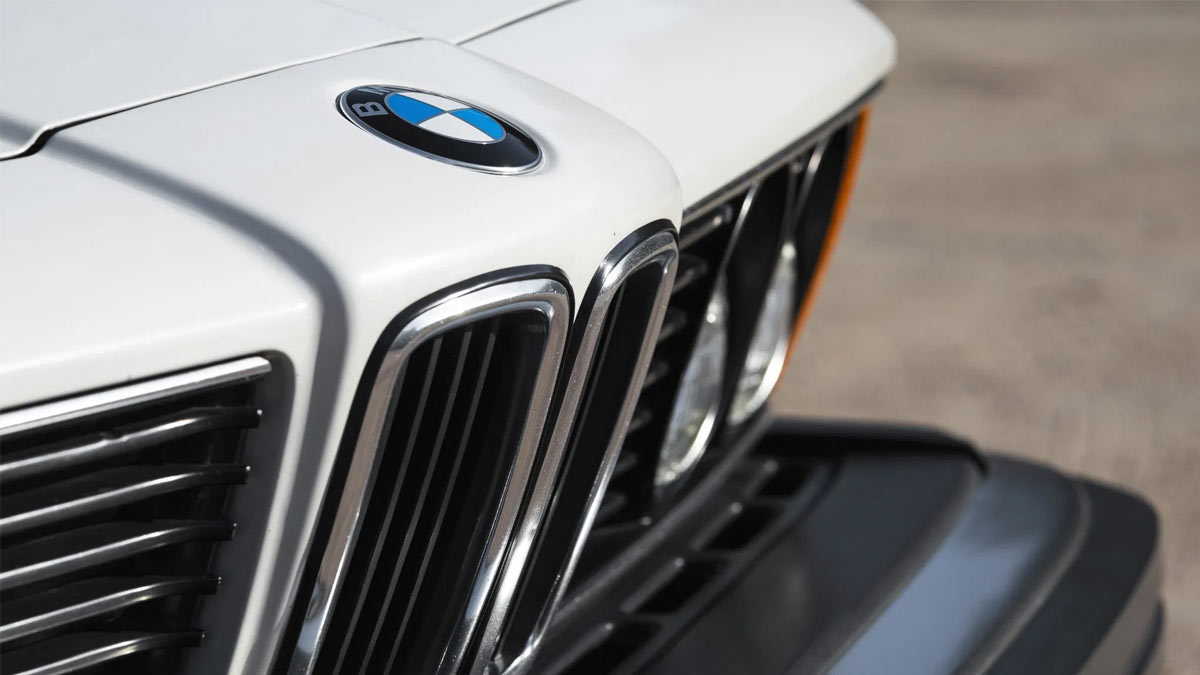 The 1984 BMW 633CSi Front Grille and Emblem