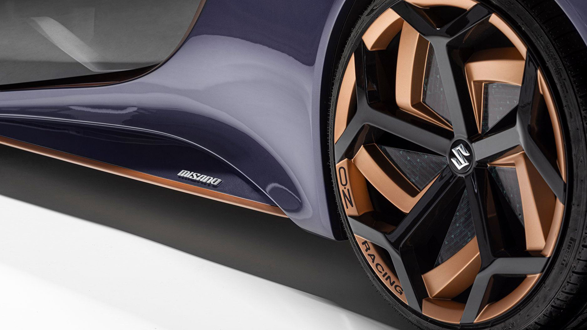 The Suzuki Misano Rear Tire Close Up