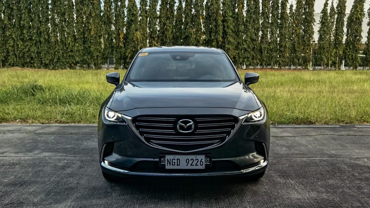 The 2021 Mazda CX-9 AWD Signature - Front View