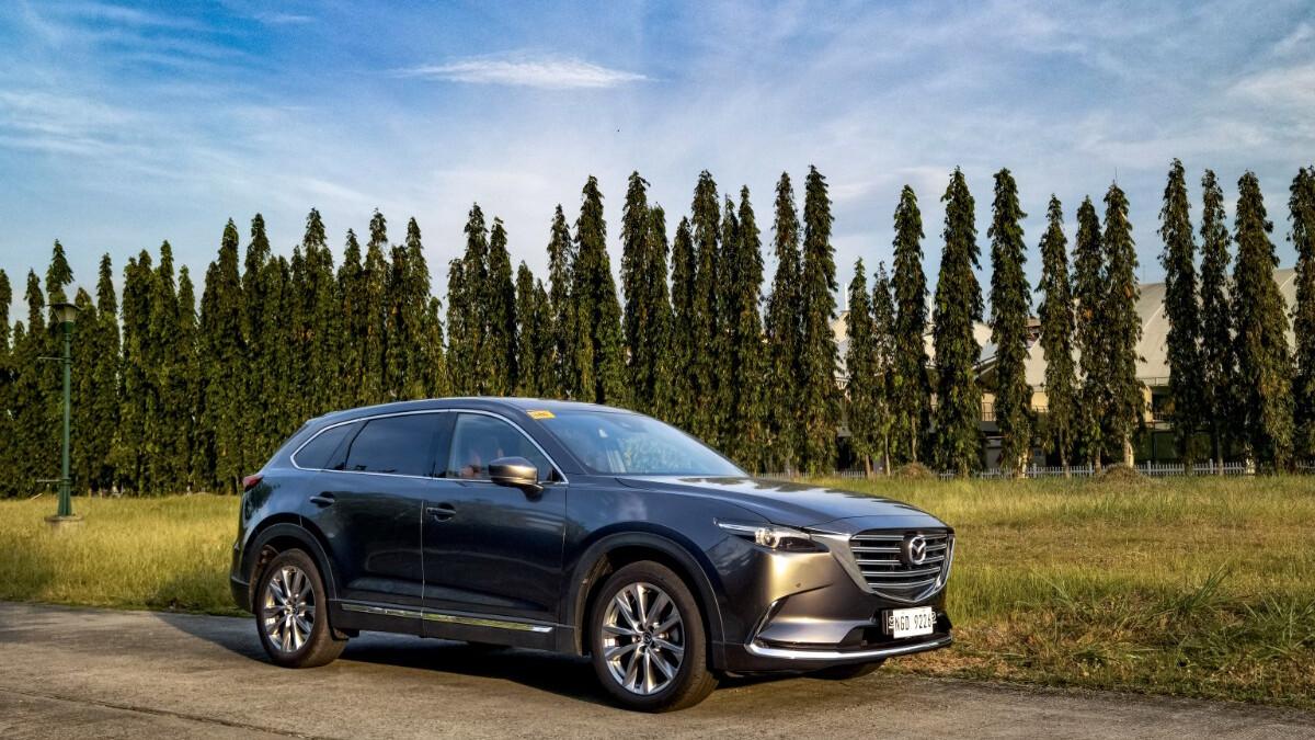 The 2021 Mazda CX-9 AWD Signature