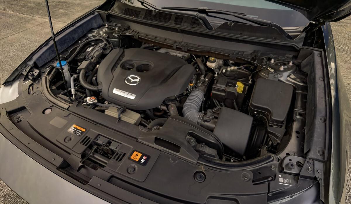 The 2021 Mazda CX-9 AWD Signature - Engine