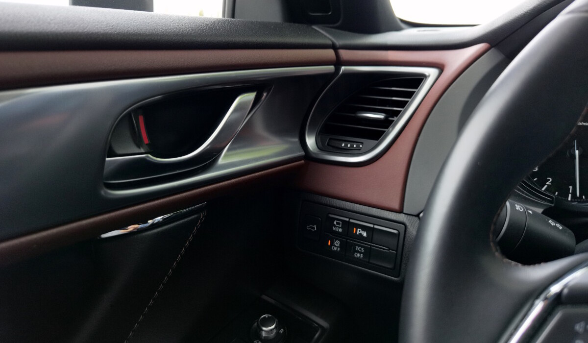 The 2021 Mazda CX-9 AWD Signature - Airconditioning Vent