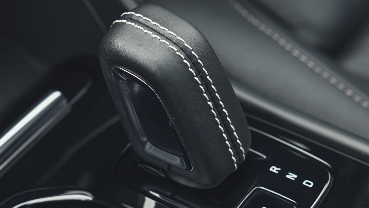 Shift Stick of the Volvo XC40 P8 Recharge