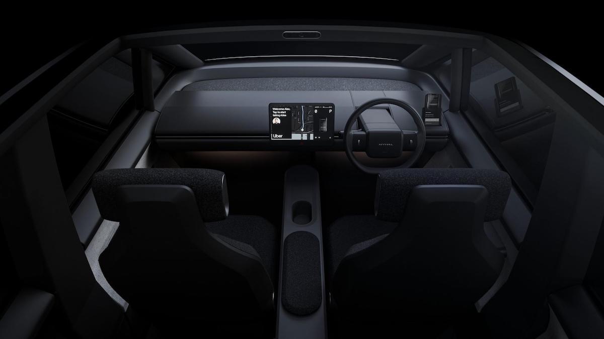 The Arrival Car - Interior