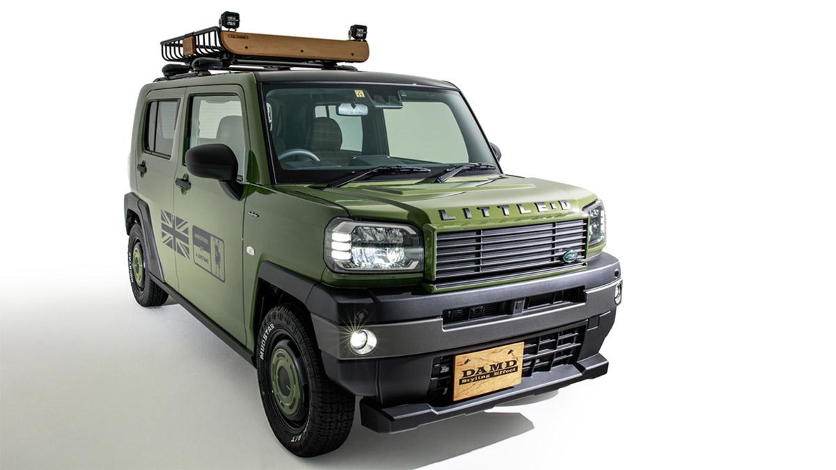 The Daihatsu Taft redesigned as a Land Rover Defender