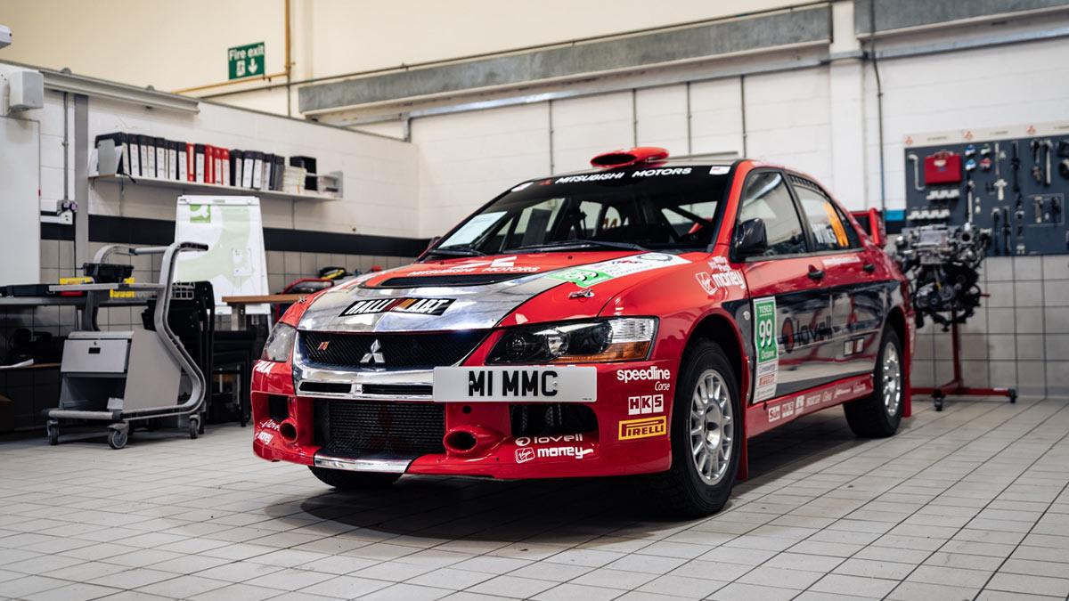 The Mitsubishi Lancer Evolution VI Tommi Makinen Edition