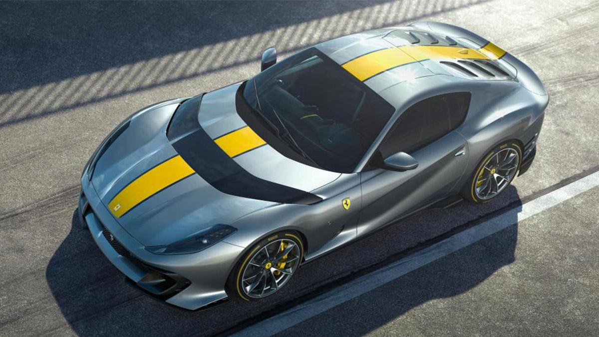 The new Ferrari 819 Competizione