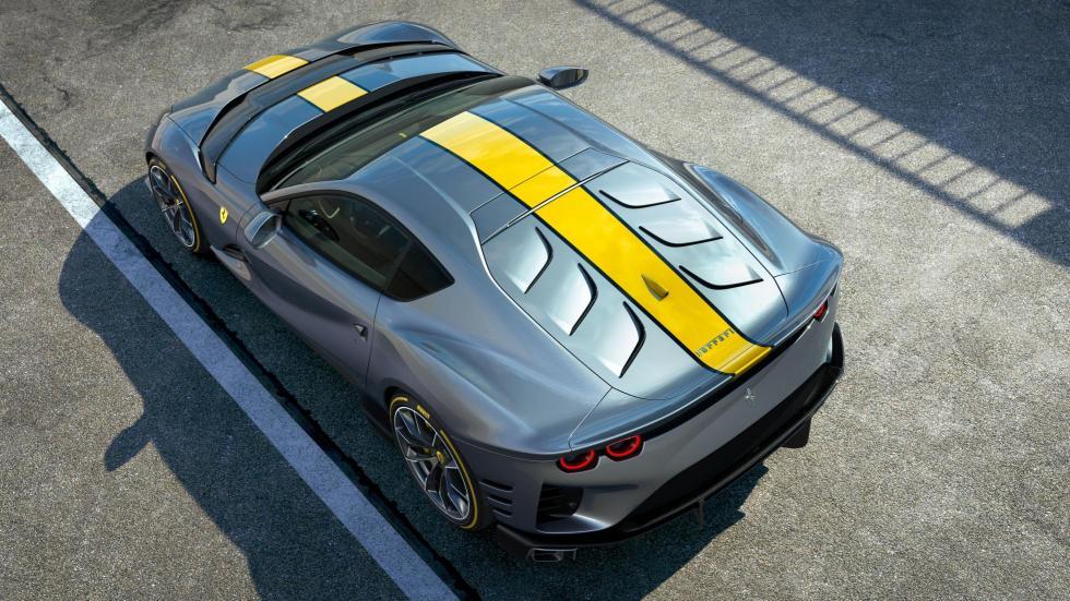 The Ferrari 812 Competizione - Top View