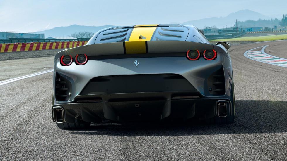 The Ferrari 812 Competizione - Rear View
