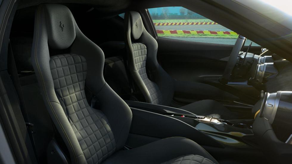 The Ferrari 812 Competizione - Passenger Seats