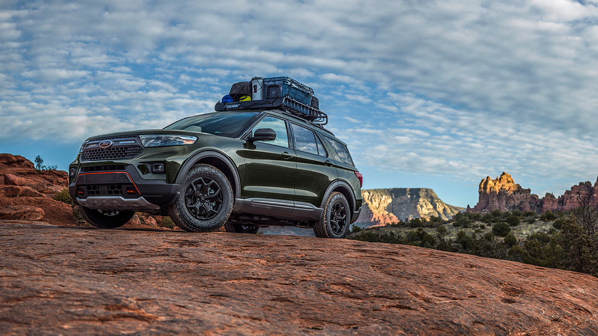 The 2021 Ford Explorer Timberline