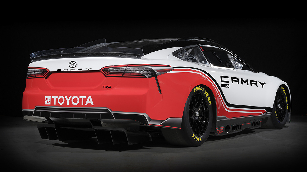 A Toyota Camry with a Full TRD Makeover - Rear View