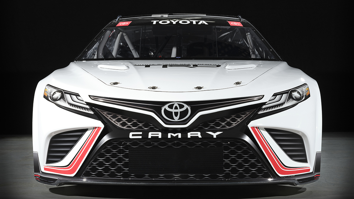 A Toyota Camry with a Full TRD Makeover - Front View