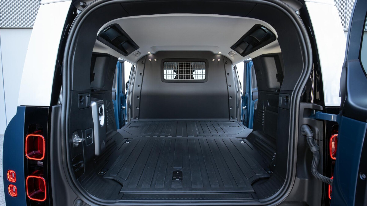 Cargo bed for the Land Rover Defender Hard Top