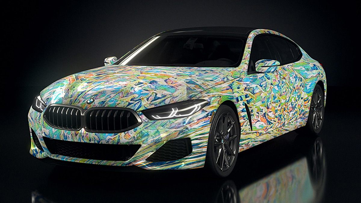BMW Gran Coupes designed by Robots - Front View