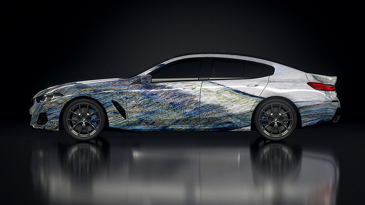 BMW Gran Coupes designed by Robots - Profile