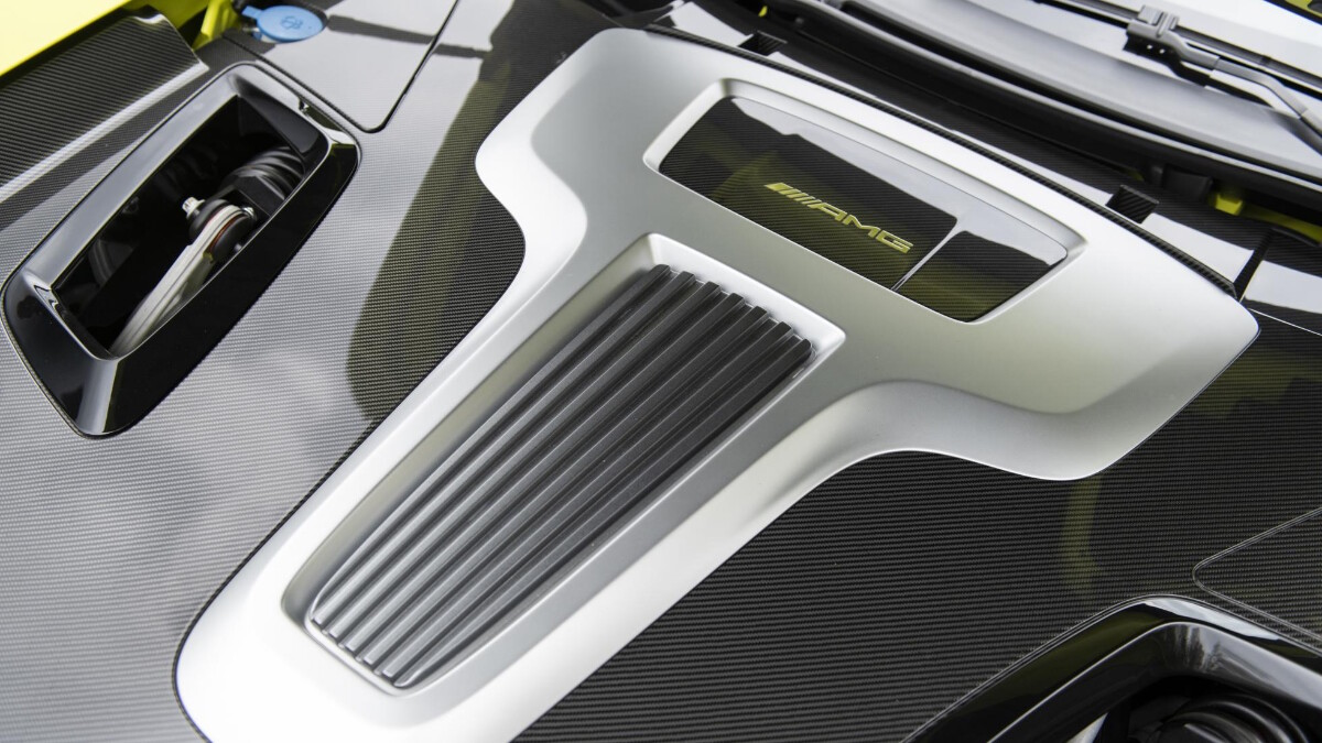The Mercedes-Benz SLS AMG Electric Drive Engine