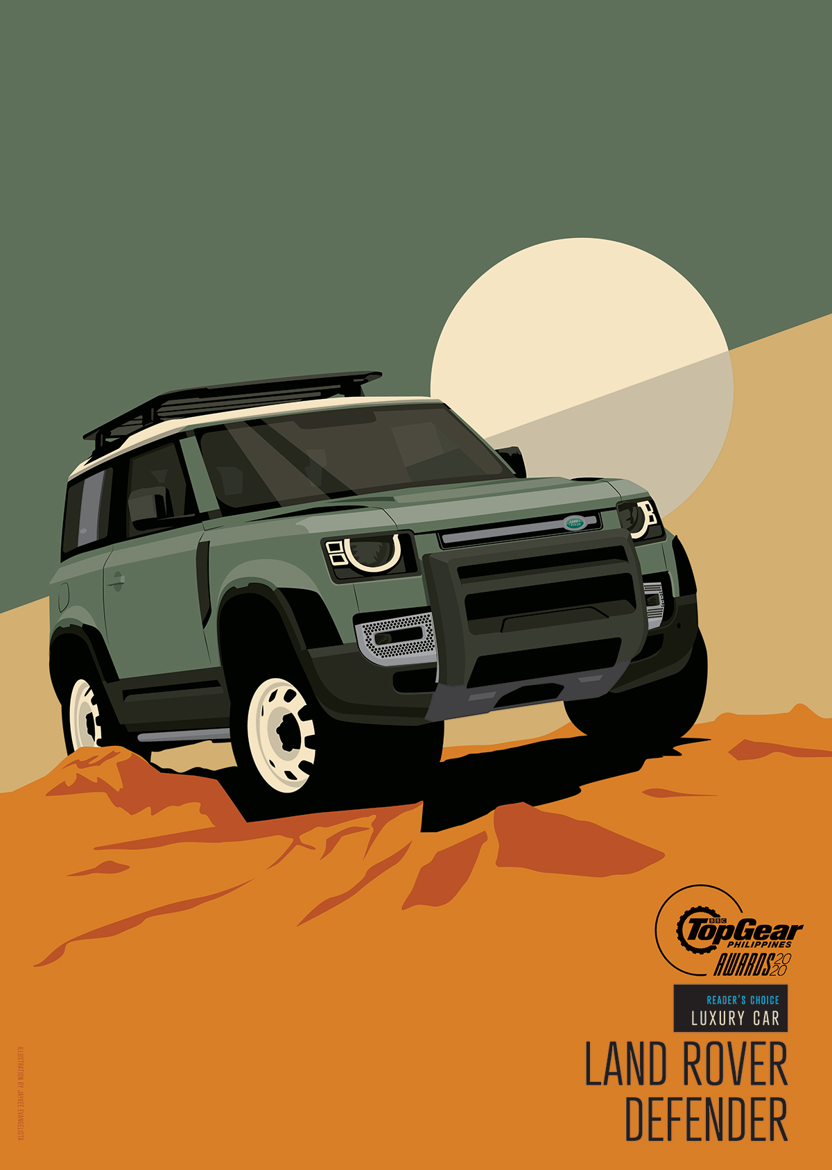 Top Gear Philippines' Reader's Choice: Luxury Car – Land Rover Defender