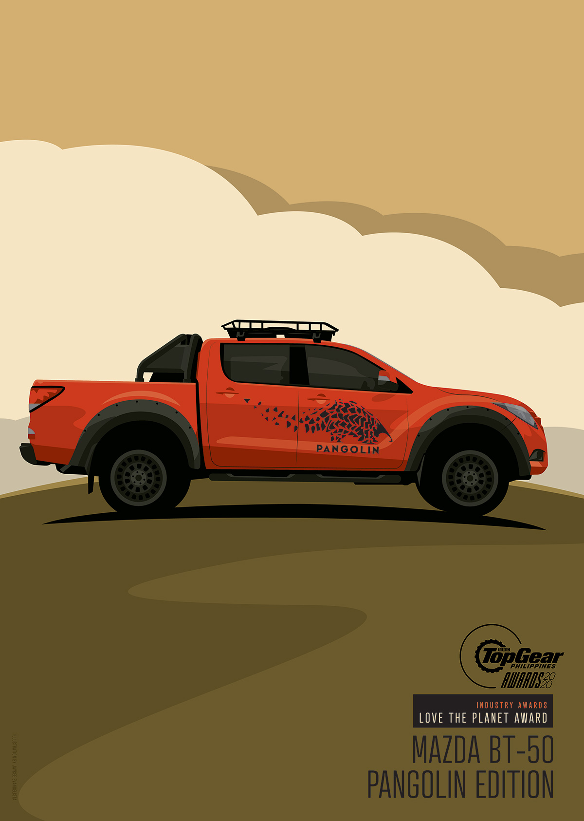 Top Gear Philippines' Love the Planet Award – Mazda BT-50 Pangolin Edition