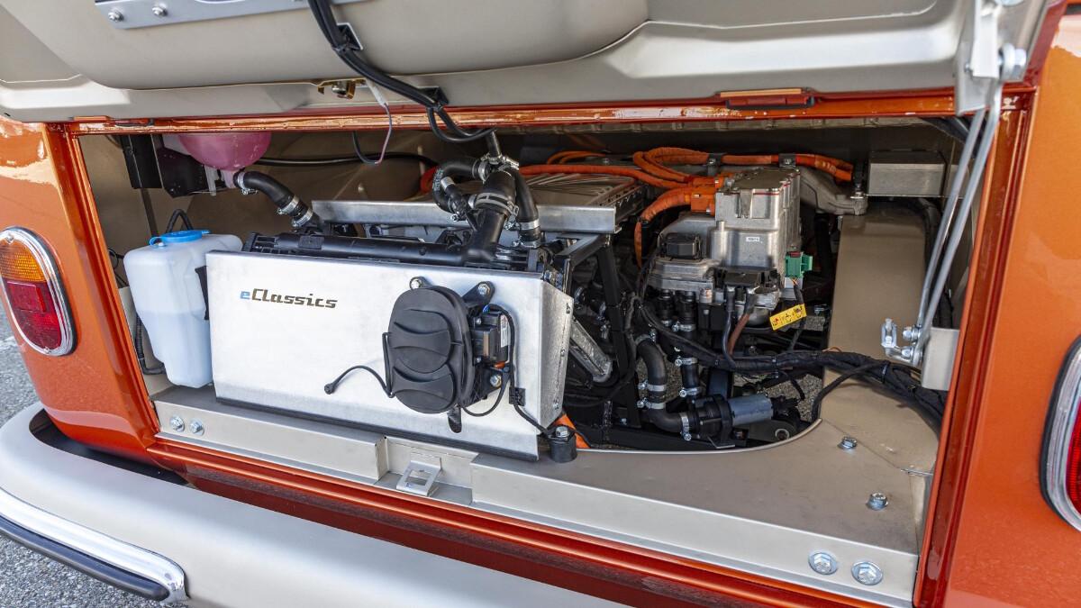 The Volkswagen e-Bulli Engine