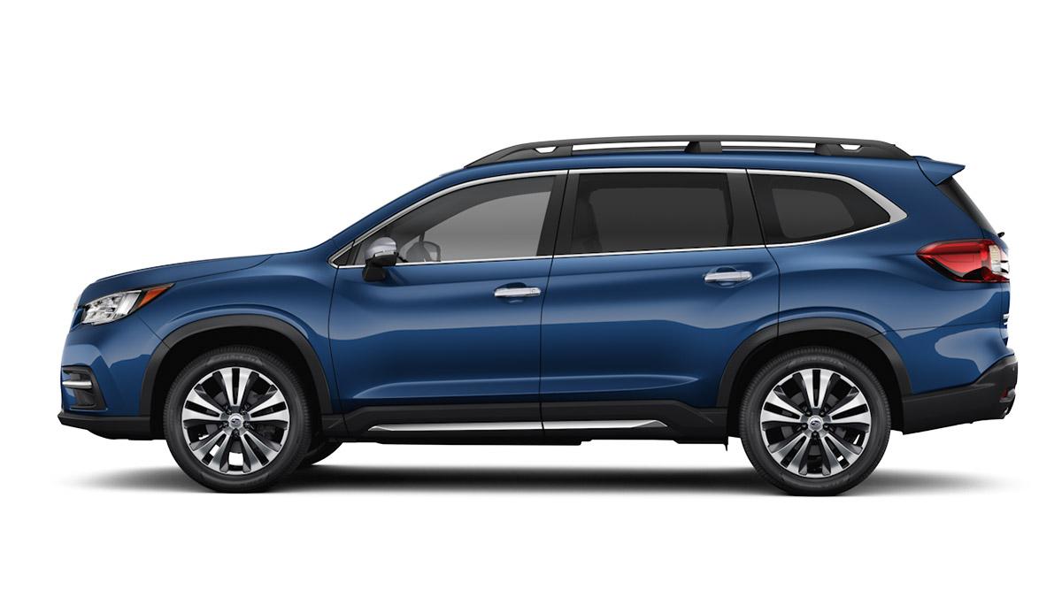 The Subaru Evoltis in profile