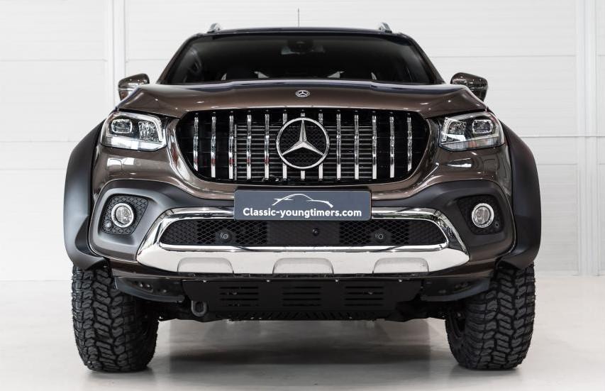 The Mercedes-Benz X-Class Pickup truck