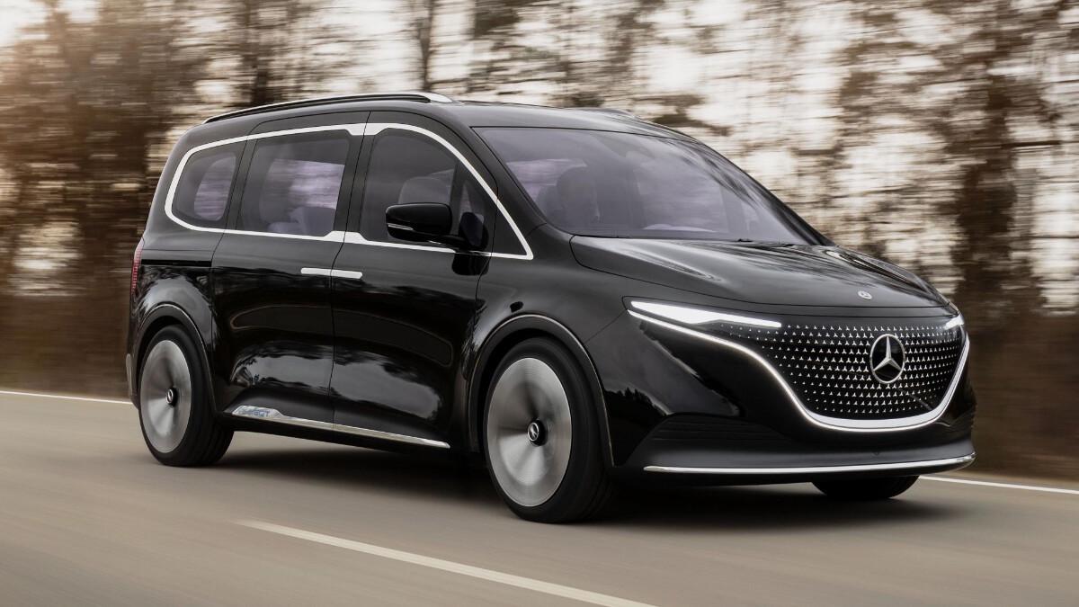 The Mercedes-Benz EQT Concept