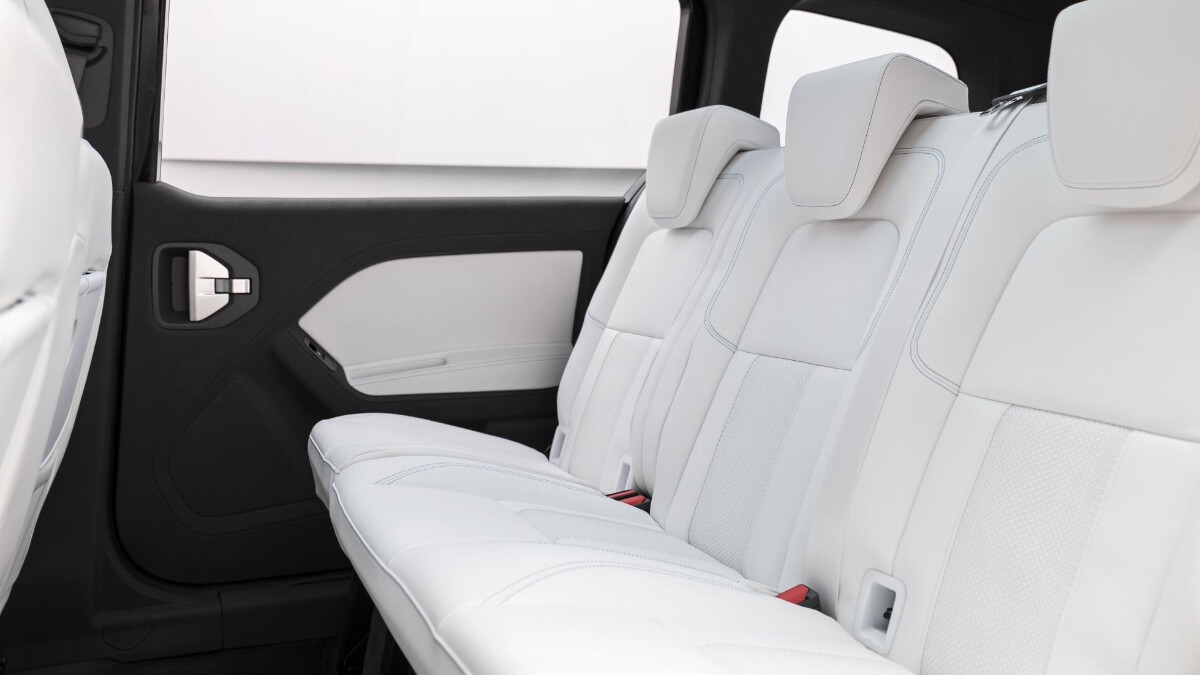 The Mercedes-Benz EQT Concept in a showroom